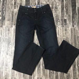 Dark wash Paige jeans size 26